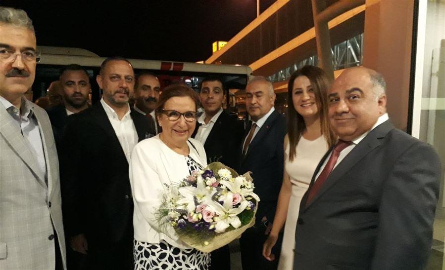 Ticaret Bakanımız Sayın Ruhsar PEKCAN 02.08.2019 tarihinde İzmir ilimizi ziyaret etmiştir.