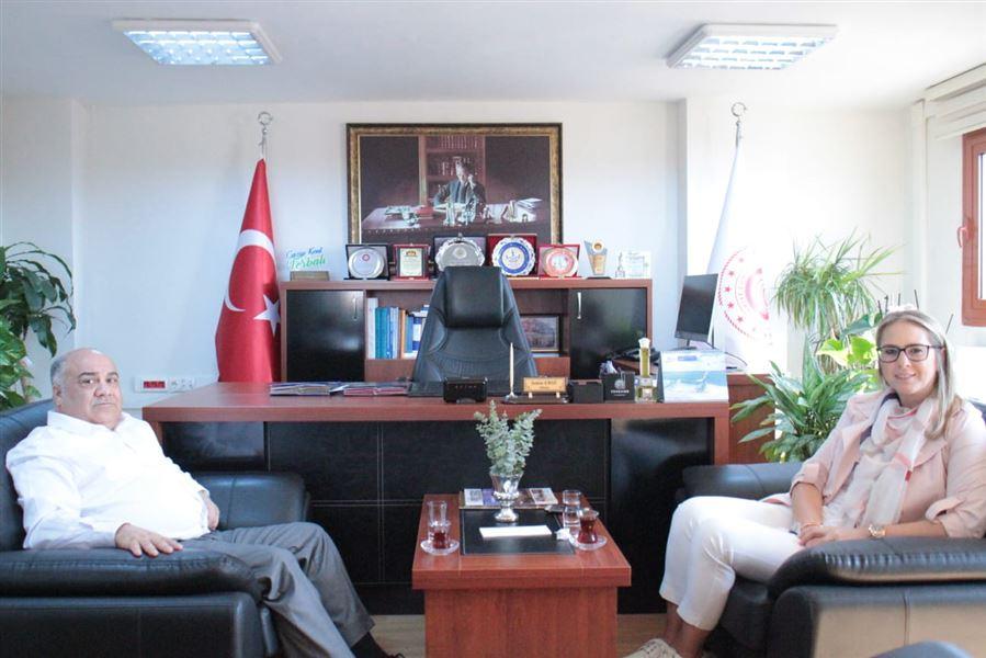 AK Parti İzmir milletvekilimiz Ceyda BÖLÜNMEZ ÇANKIRI il müdürlüğümüzü ziyaret etti.