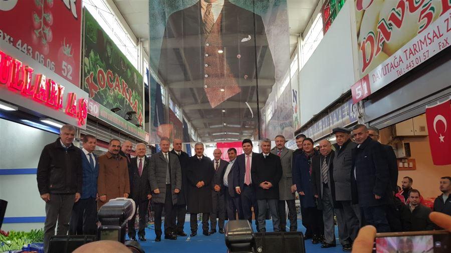 """12 Aralık 2019 tarihinde """"Yerli Malı Haftası"""" kapsamında düzenlenen etkinliğe il müdürümüz Sayın Şahin ERSÜ katıldı."""