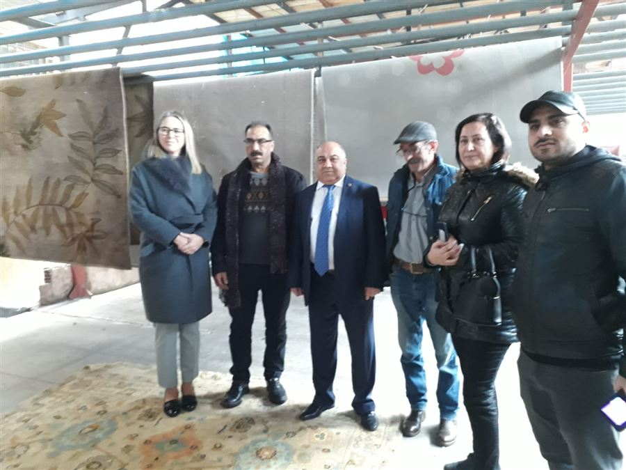 AK Parti İzmir Milletvekili Sayın Ceyda Bölünmez Çankırı ve il müdürümüz sayın Şahin ERSÜ İzmir Bergama'da incelemelerde bulundu.